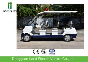 China Battery powered electric security  vehicle 6 seats electric security patrol car on sale