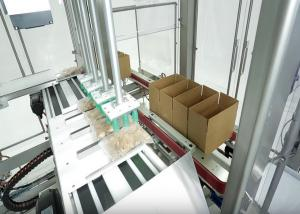 China Automatic Case Packer With Carton Erector And Closer For Apparel / Clothes / Garment on sale