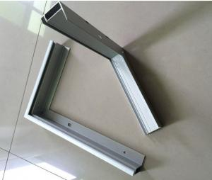China T5 / T6 6000 Series Anodized Aluminum Solar Panel Frame ISO9001 Certification on sale