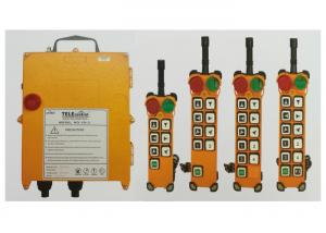 China Crane Spare Parts , Wireless Remote Controller For Electric Hoists Telecontroller on sale