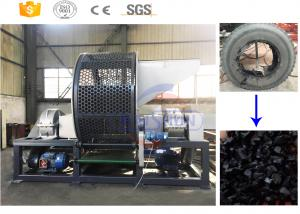 China Eco Friendly Scrap Rubber Tires Recycling Machine For Plant Fully Automatically on sale