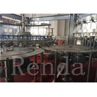 Automatic Carbonated Drink Filling Machine Gas Beverage Equipment For CO2 Water Juice