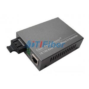 China 10/100M 1310nm Dual Fiber Fast Ethernet Optical Fiber Media Converter Cat 5 UTP on sale