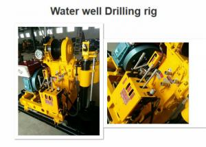 China High Performance Water Well Drilling Rig 180 Depth Easy Operation For Core Drilling on sale