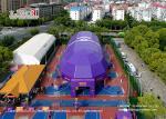 Unique Tear Resistant Sport Event Tents Roof Cover 850g/Sqm Block - Out