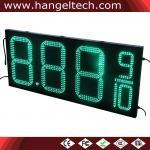 16 tablero al aire libre de la muestra de la gasolinera de la muestra del precio de la gasolina del dígito del LED