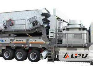 China High Energy-saving Tracked Mobile Crushing Plant Used in Stone Crushing Plant on sale