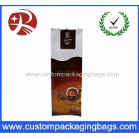 500ml Plastic Coffee Packaging Bags For Powder , Resealable Stand Up Pouches
