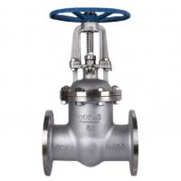 China High Temperature Stainless Steel Gate Valve  Flange Type Wear Resistance on sale