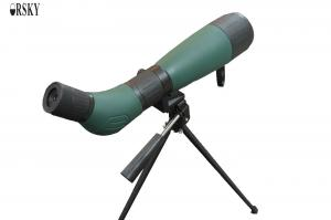 China Durable High Definition Long Range Angled Spotting Scope With Excellent Light Transmission on sale