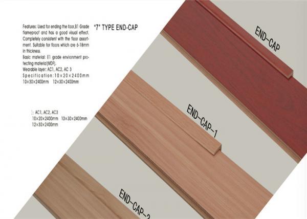 Floor End Cap Mdf Wood Moulding Laminate Flooring Accessories For