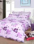 China Twill Cotton Floral Bedding Sets Reactive Printed Workmanship Customized wholesale
