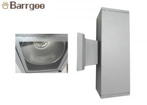 China Square Up Down Led Wall Light IP 65 Waterproof Aluminum Housing With Bulb Sockets on sale