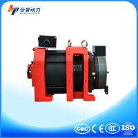 Small home elevator disc brake Gearless Traction Machine