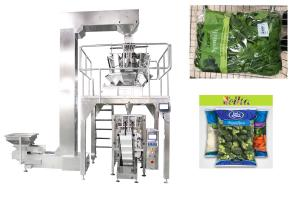 China 800ml Or 2000ml Volume Multi Head Weighing And Packing Machine For Dry / Fresh Vegetable on sale