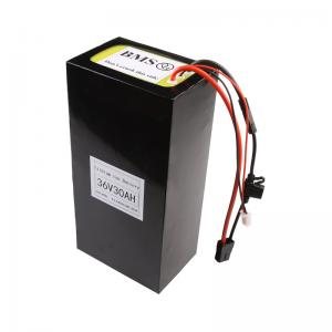 China 1080Wh 36 Volt 30AH 18650 Rechargeable Battery Pack on sale