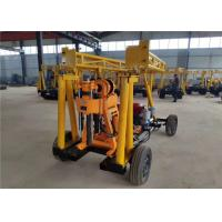 Small Size Flexible ST-100 Water Well Drilling Rig For Construction Foundation