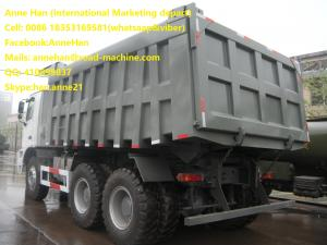 China 6x4 LHD Euro2 25m3 Sinotruk HOWO 70T mining dump truck for sale on sale
