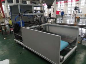 China Trailer Type Mobile Packaging System Palletizing Line for Bulk Grain Products on sale