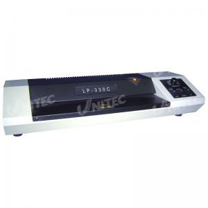 China LP-330C Roll Laminator Machine , Pouch Home Laminating Machine on sale