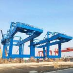 Tower Fixed Mobile Container Crane Electric Hoist Port Shipyard Outdoor Long Span