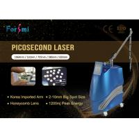 Korea arm Optional 650 580 755 Picosecond Nd Yag Laser Enlighten Pico Laser For Tattoo Removal