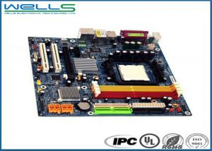 China Custom Electric Circuit Board , Blue Multilayer PCB Assembly With Turnkey Service on sale