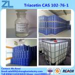 99.5%min Efficient plasticizer Triacetin USP 102-76-1 liquid