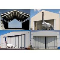 Single Span Steel Structure Aircraft Hangar Buildings With Wall / Roof Panel