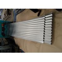China Galvanized Corrugated Roofing Sheets , Corrugated Steel Roof Panel For Wall on sale