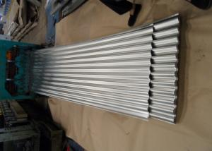 China Galvanized Corrugated Roofing Metal Sheets For Wall , White Blue Red on sale