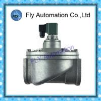 China 2/2 Way Pulse Jet Valves , Through Electromagnetic Pulse Valve DMF-T-62S 2.5Inch DN62 on sale