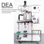 Industrial High Vacuum Distillation Machine Distilled Liquid 4000-12000 Ml / H Feed Amount