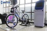Electronic VR Mobile Cinema Bike Simulator Athletic Exercise 1.6*2.0*1.3M