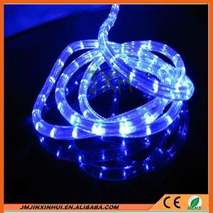 China DS 13mm Round 2 wires Blue LED Rope Light on sale