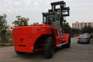 China Customised Color 45 Ton Port Forklifts , Double / Three Mast Forklift on sale