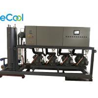 Automatic Bizter High Temperature Piston Parallel Compressor Unit  Rack for Large Cold Storage Refrigeration System