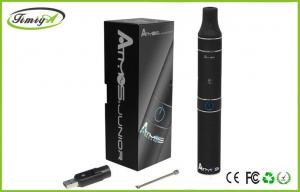 China Black Atmos Raw Junior Vaporizer Kit Dry Herb E Cig 2.2ohm With Mini Rechargeable Battery on sale