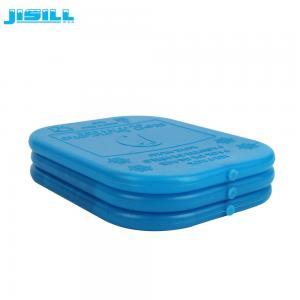 Le gel en plastique de congélateur de vessie de glace rechargeable de SAP/CMC emballe pour une boîte plus fraîche