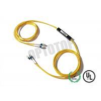 2X2 1m Single Mode Fiber Coupler 1310 / 1550nm LC / UPC With With Single Window