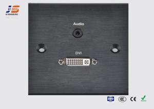 35mm Audio Multi Plug Wall Plate Dvi Multimedia Wall Socket