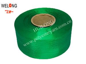 China polyester monofilament,100% polyester dope dyed yarn FDY on sale