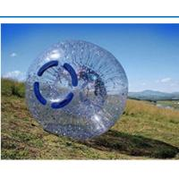 Fire Resistant Inflatable Zorb Ball , Human Grass Zorb Ball UV Protective