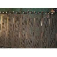 China Robust Chain Mesh Conveyor Belt, can be reused Easily Cleaned on sale