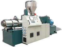 China Recycling Single Screw Pelletizing Extruder , PE Film Extruder Plastic Machine on sale