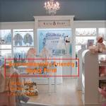 Nice fashion popular retail Kids Clothing Store interior design