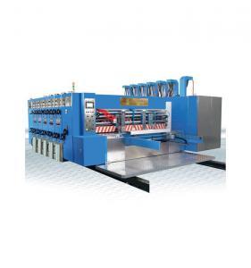 China High Speed Printing Slotting Die Cutting Machine , Colour Printing Machine on sale