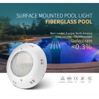 China 12V AC/DC 18W Wall Mounted Fiberglass LED Swimming underwater Pool Light with ERP,FCC,CE,ROHS,IP68 on sale
