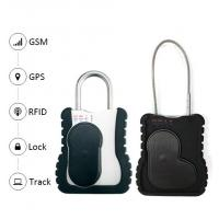 Smart GPS vehicle tracker Waterproof Trcuk GPS Tracking Padlock with long cable remote open lock function