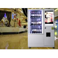 High End Elevator Wine Vending Machine , Drink Vending Machine With Remote Control System